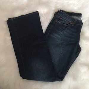 Lucky Brand Dungarees Midrise 6/28 Stretch